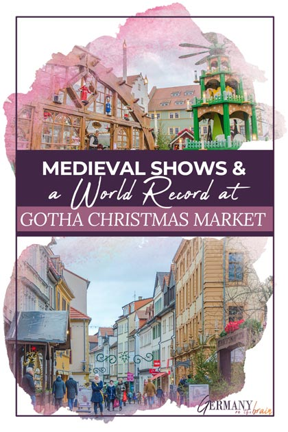 Medieval Shows & a World Record at Gotha Christmas Market, Germany