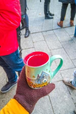 Leipzig Christmas market mug 2019