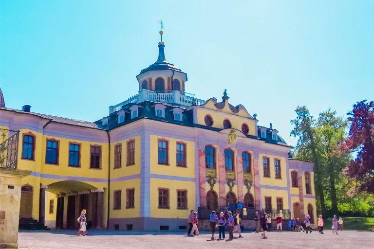 main building at Belvedere Castle in Weimar