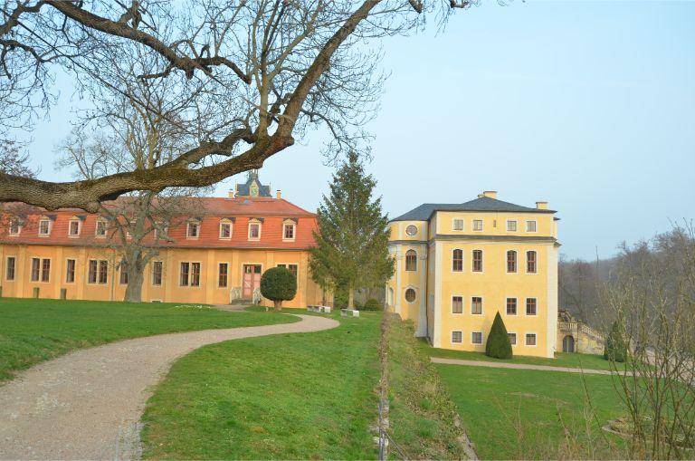Castle Ettersburg in Weimar