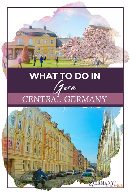 What to do in Gera Germany