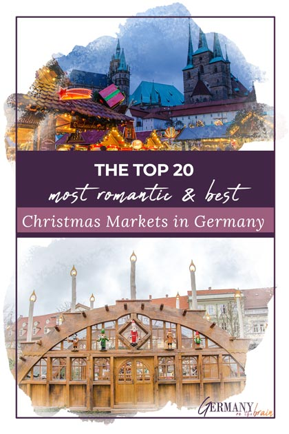 The Top 20 Most Romantic & Best Christmas Markets in Germany