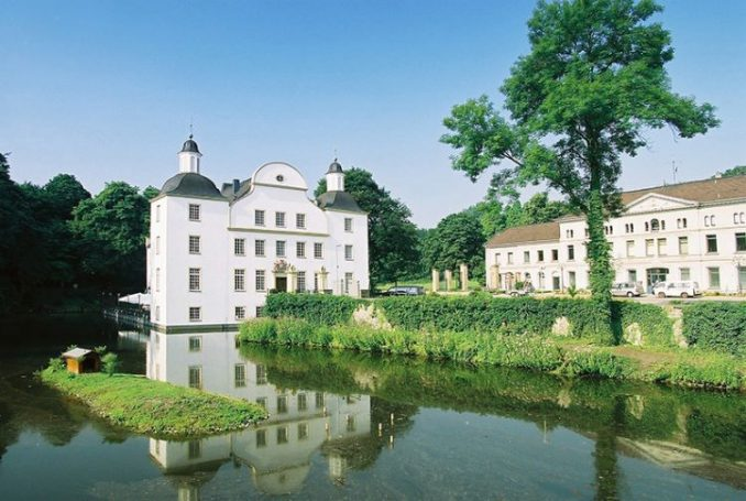 Castle Borbeck in Essen, Germany