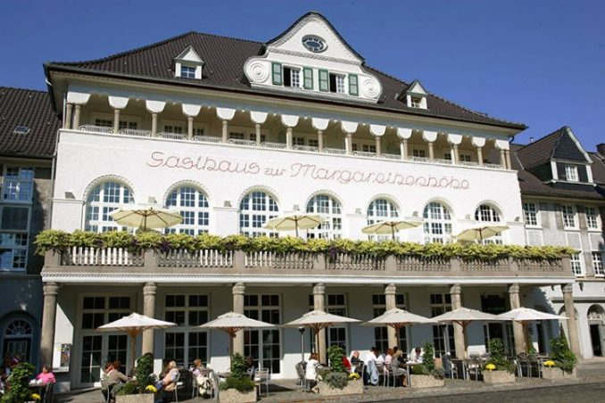 hotel and restaurant Margarethenhöhe in Essen, Germany