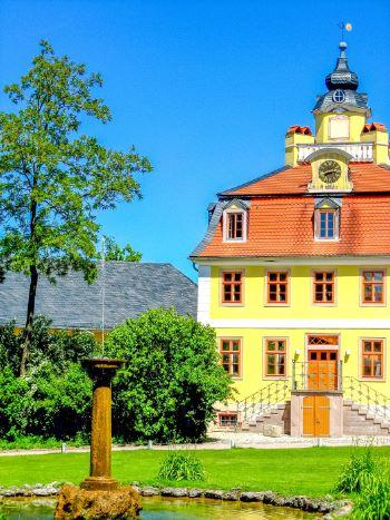 Belvedere Castle in Weimar, Germany