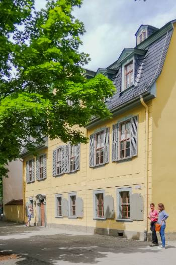 Schiller House in Weimar, Germany