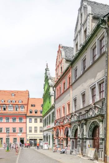 Lucas Cranach House in Weimar, Germany