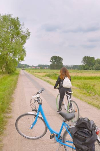 bike trails around Weimar, Germany