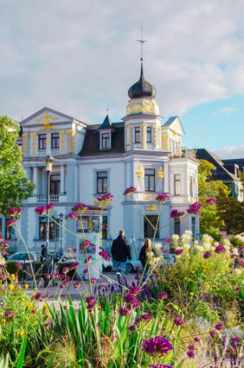 baroque house in Weimar, Germany